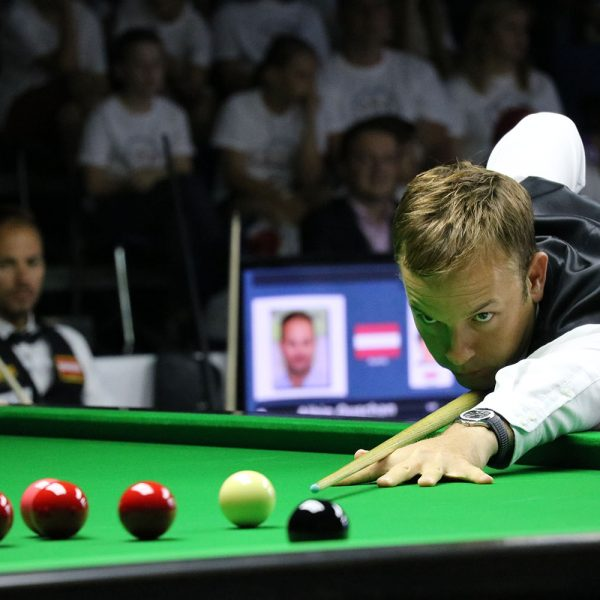 Ali Carter plays at World Games