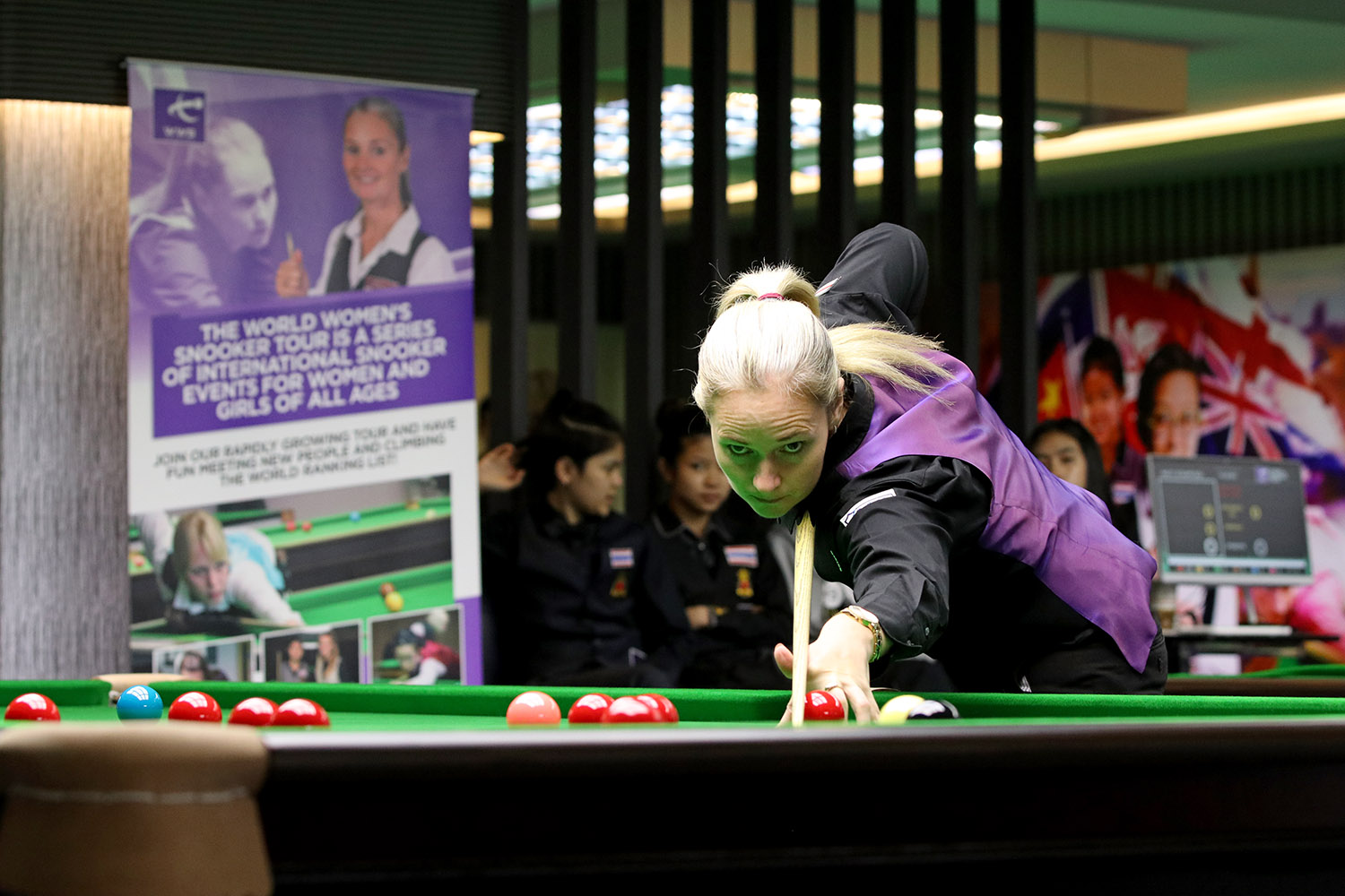 New Website for World Women's Snooker!