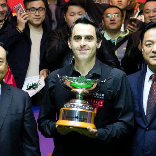 Ronnie O'Sullivan Shanghai trophy
