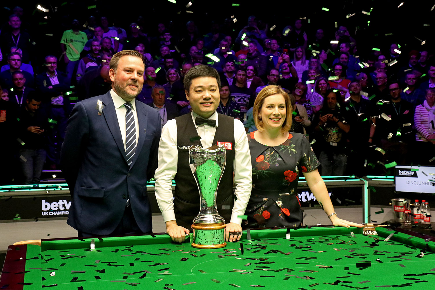 Ding Beats Maguire To Win Third UK Title - WPBSA
