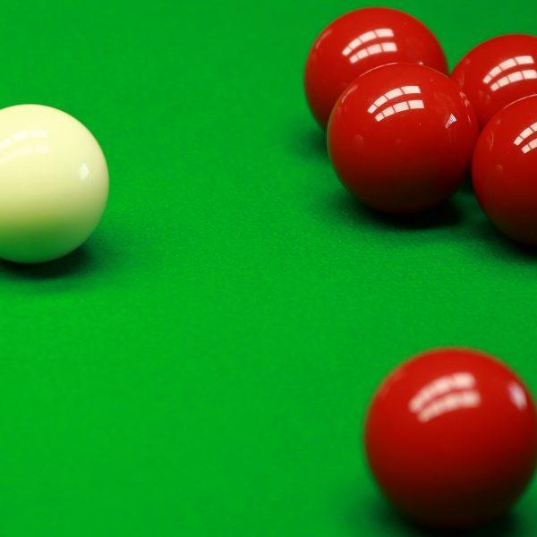 Photo of snooker balls